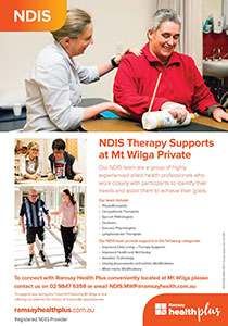 NDIS Therapy Supports