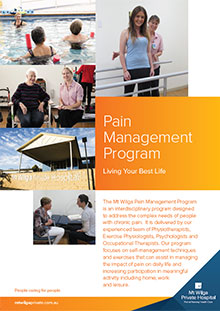 Pain Management Program
